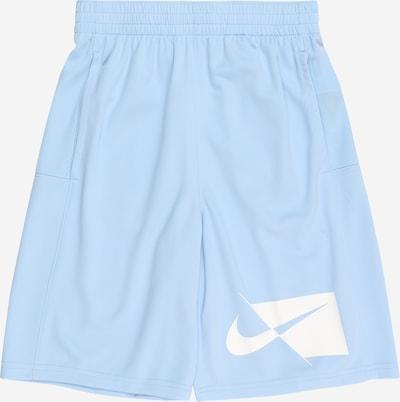 NIKE Sporthose in hellblau / weiß, Produktansicht