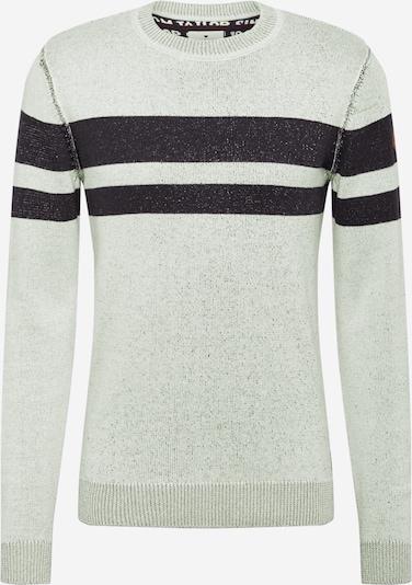 TOM TAILOR Pullover in grau / schwarz, Produktansicht