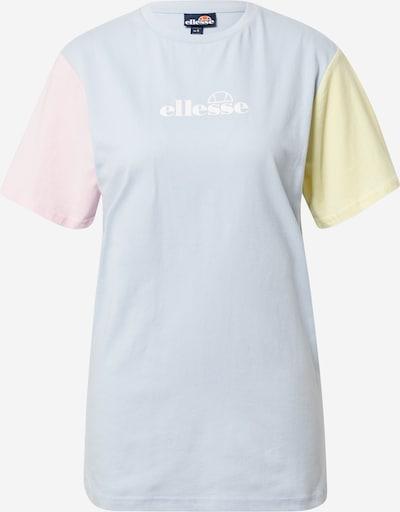 ELLESSE Särk 'Buonanotte' opaal / pastellkollane / pastellroosa / valge, Tootevaade