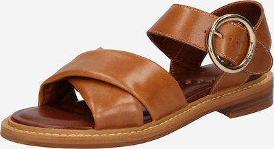 See by Chloé Strap sandal 'Lyna' in Brown, Item view