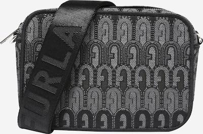 FURLA Чанта за през рамо тип преметка в сиво / черно, Преглед на продукта