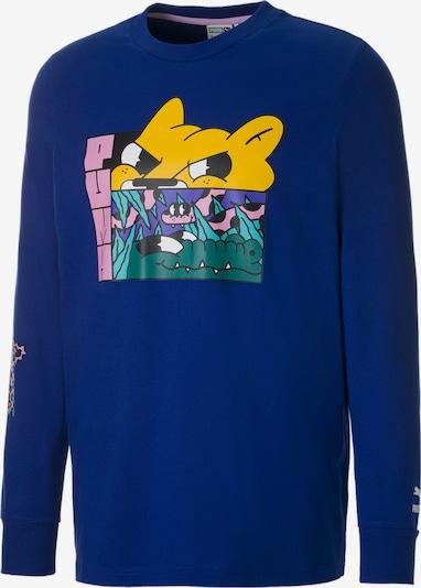 PUMA Sportsweatshirt in de kleur Blauw, Productweergave