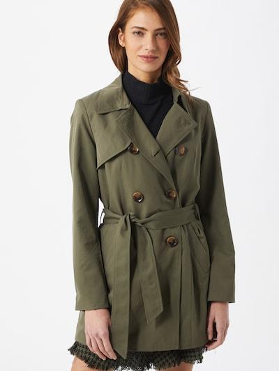 ONLY Płaszcz przejściowy 'VALERIE' w kolorze oliwkowym, Podgląd na modelu(-ce)