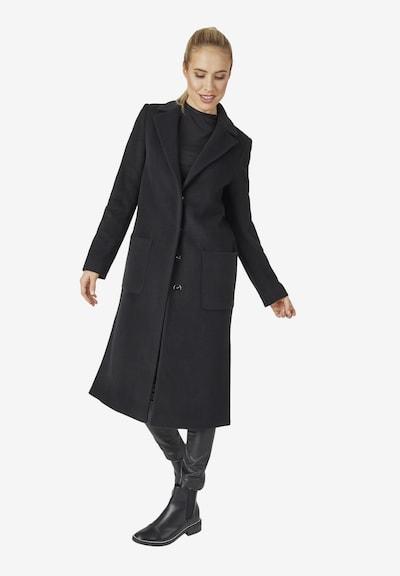 DANIEL HECHTER Übergangsmantel in schwarz, Modelansicht