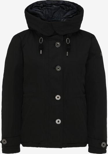 DreiMaster Klassik Winterjas in de kleur Zwart, Productweergave