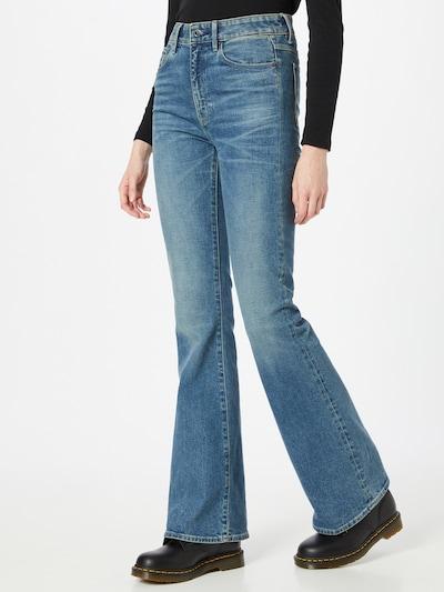 G-Star RAW Jeansy w kolorze niebieskim, Podgląd na modelu(-ce)