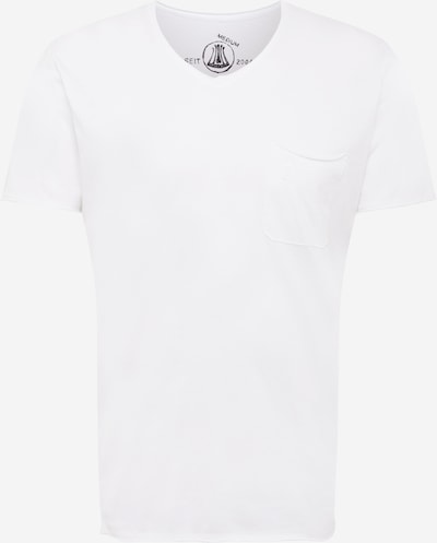 Tricou 'Robby' Herrlicher pe gri deschis / alb, Vizualizare produs
