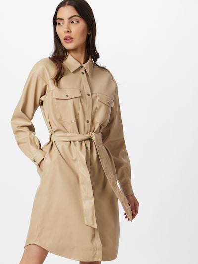 Rochie tip bluză 'SOLAASHLEY' VERO MODA pe bej, Vizualizare model