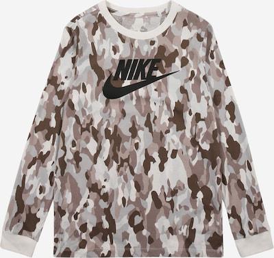 Marškinėliai iš Nike Sportswear , spalva - ruda / brokato spalva / kapučino spalva / šviesiai pilka / juoda, Prekių apžvalga