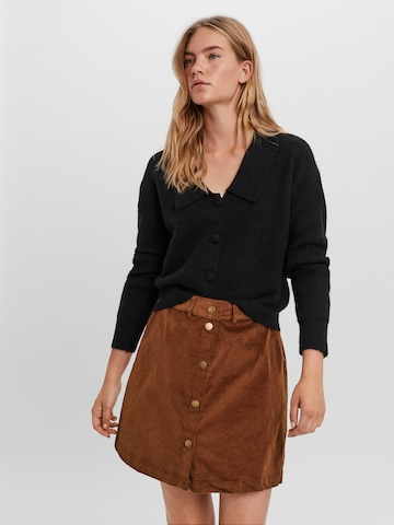 Vero Moda Aware Knit Cardigan 'Rosie' in Black