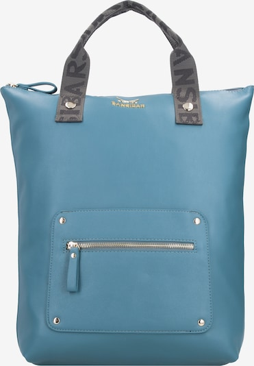 SANSIBAR Rucksack in blau / grau / schwarz, Produktansicht
