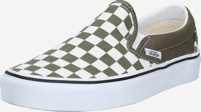 VANS Classic Slip-On in khaki / weiß, Produktansicht