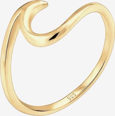 ELLI Prsteň 'Wellen' - zlatá, Produkt