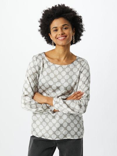 Bluză MORE & MORE pe grej / alb, Vizualizare model