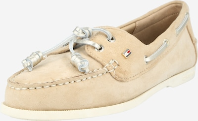 TOMMY HILFIGER Mokkasiina värissä beige / hopea, Tuotenäkymä