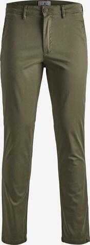 Pantalon chino 'Marco Bowie' JACK & JONES en vert