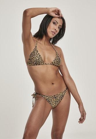 Urban Classics Bikini in Gelb