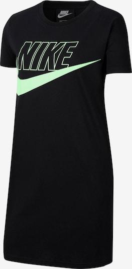 Nike Sportswear Šaty 'FUTURA' - světle zelená / černá, Produkt