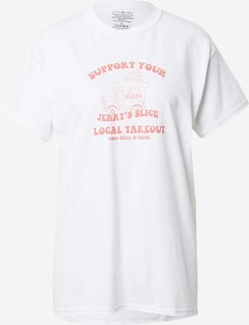 Daisy Street T-shirt 'TYLER' i vit