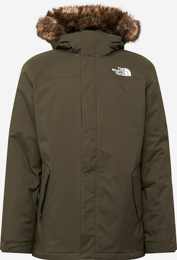 THE NORTH FACE Jacke 'M RECYCLED ZANECK JACKET ' in khaki, Produktansicht