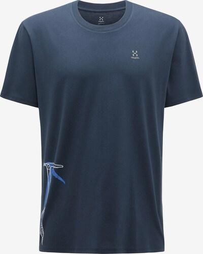 Haglöfs Funktionsshirt 'Camp' in hellblau / dunkelblau / weiß, Produktansicht