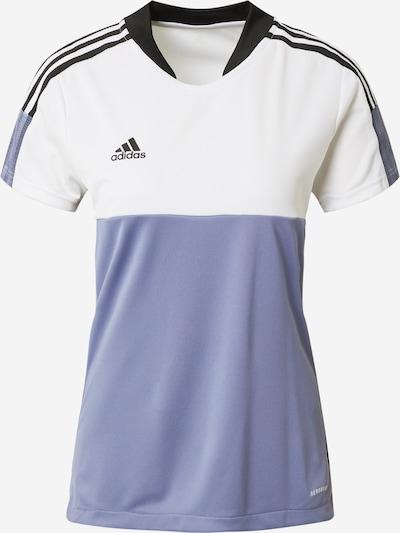 ADIDAS PERFORMANCE Functioneel shirt 'TIRO' in de kleur Sering / Zwart / Wit, Productweergave
