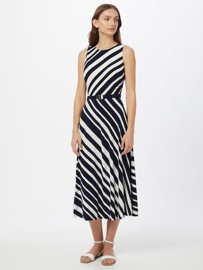 Lauren Ralph Lauren Kleid 'FELIA' in creme / blau, Modelansicht