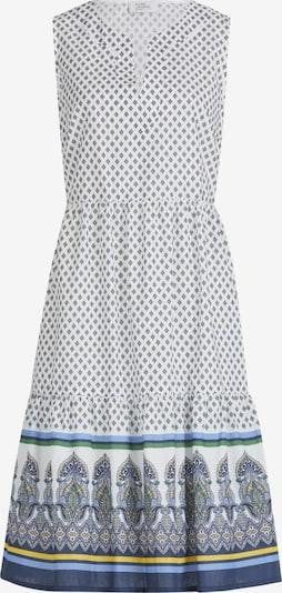 Vera Mont Kleid in beige / navy / rauchblau / gelb, Produktansicht