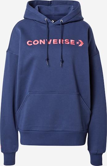 CONVERSE Sweatshirt in navy / hellpink, Produktansicht