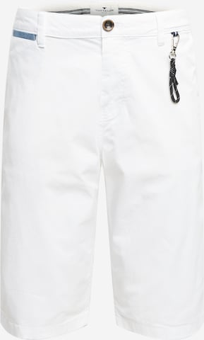 TOM TAILOR Shorts in Weiß