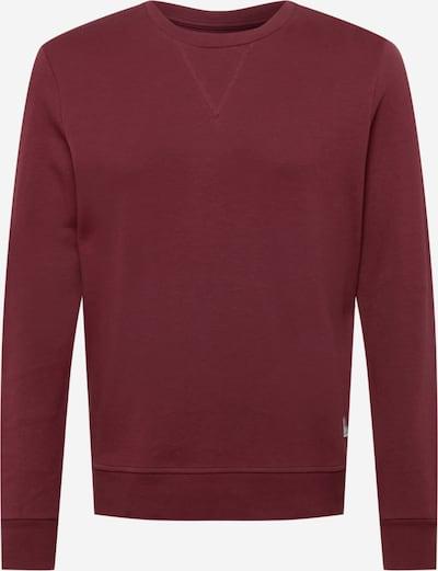 JACK & JONES Sweatshirt in de kleur Wijnrood, Productweergave