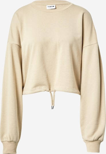 Noisy may Sweatshirt 'Aliah' in beige, Produktansicht