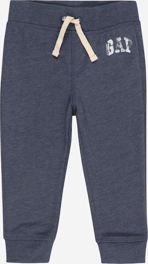 GAP Pantalón en azul paloma / blanco, Vista del producto