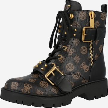 GUESS Lace-Up Ankle Boots 'RODETA' in Black
