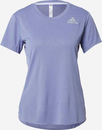 ADIDAS PERFORMANCE Funksjonsskjorte i lilla