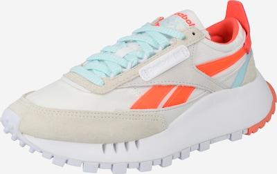 Reebok Classic Sneaker 'Legacy' in kitt / hellblau / orange / weiß, Produktansicht