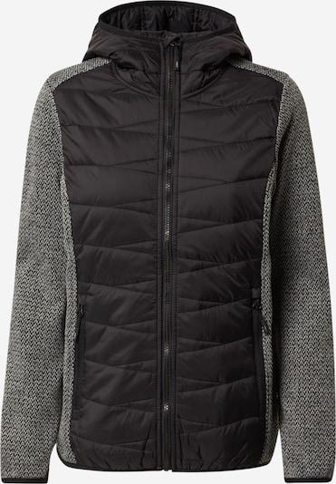 CMP Outdoorjacke in graumeliert / schwarz, Produktansicht
