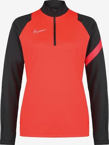 NIKE Athletic Sweatshirt in Red