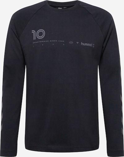 Hummel Λειτουργικό μπλουζάκι 'Musa' σε γκρι / μαύρο, Άποψη προϊόντος