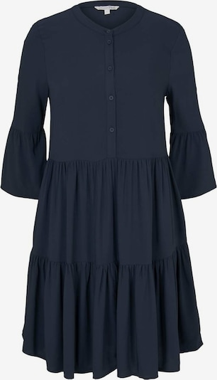 TOM TAILOR DENIM Kleider & Jumpsuits Babydoll Minikleid in dunkelblau, Produktansicht
