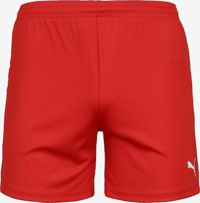 PUMA Trainingsshort 'Team Goal 23 Knit' in rot / weiß, Produktansicht
