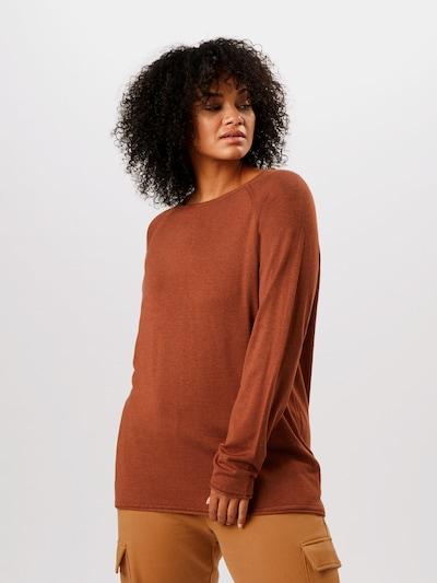 Pullover ONLY Carmakoma di colore marrone sfumato: Vista frontale