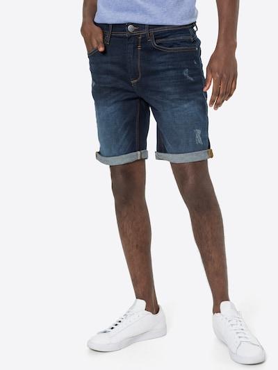 BLEND Shorts in blau, Modelansicht