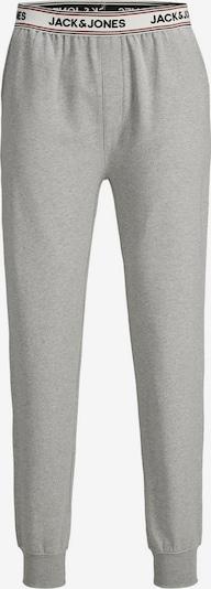 JACK & JONES Pyjamahose in grau / weiß, Produktansicht