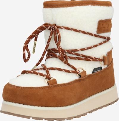 LUHTA Škornji 'NAUTTIVA MS' | rjava / bela barva, Prikaz izdelka