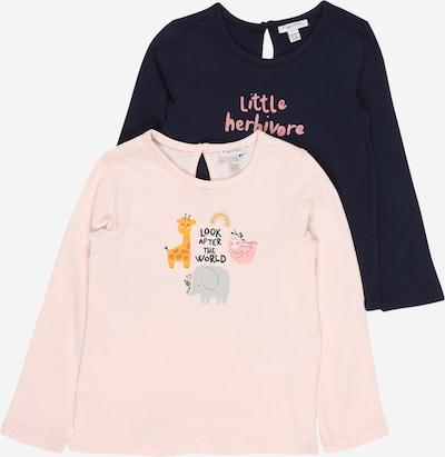 OVS Shirt in de kleur Donkerblauw / Honing / Goud / Rosa / Zwart, Productweergave