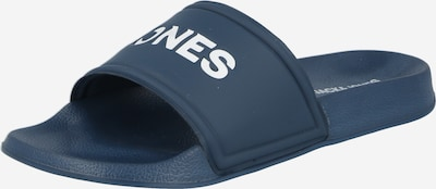 JACK & JONES Claquettes / Tongs en bleu, Vue avec produit