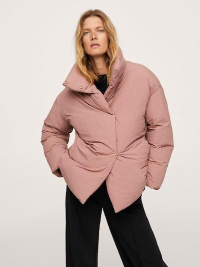 MANGO Mantel 'NATA' in rosa, Modelansicht