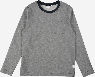 NAME IT Sweatshirt 'VILMAR' in de kleur Saffier / Lichtgrijs, Productweergave