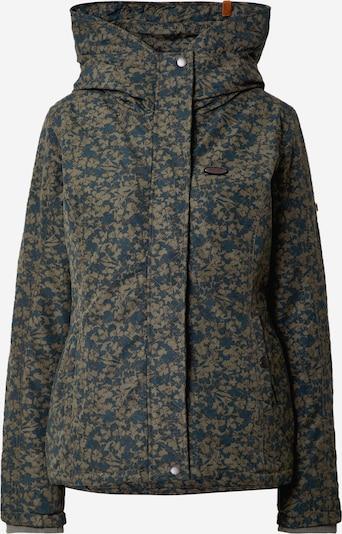 Alife and Kickin Zimní bunda 'Naomi' - světle zelená / tmavě zelená, Produkt